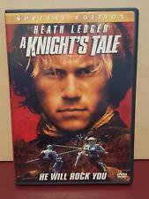 A Knight's Tale - DVD Region 1 - Special Edition - Heath Ledger