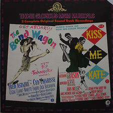 OST record - The Band Wagen / Kiss Me Kate - 2 LP's