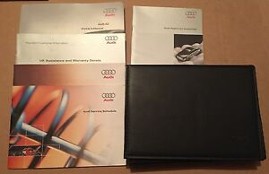 AUDI A2 2000 - 2005 OWNERS GUIDE MANUAL HANDBOOK LEATHER WALLET BOOKLET BOOKLETS