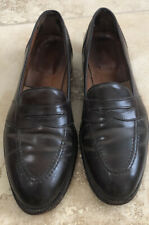 Alden Shell Cordovan Burgundy Penny Loafers 11.5 B/D
