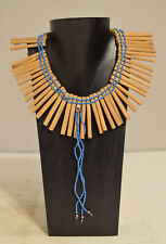 African Necklace Nursing Mother's Wood Charm Necklace Xhosa Tribe South Africa