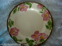 "FRANCISCAN Desert Rose Hand Painted 10 7/8"" Plate / Platter - Made in England"