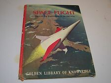 Space Flight Golden Book Library of Knowledge Vintage 1961 Lester Del Rey