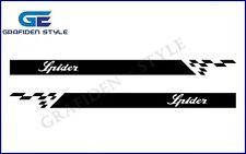 1 Paar ALFA ROMEO SPIDER - Auto Seiten Aufkleber - Sticker - Decal - Car !