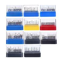 17 Model AZDENT Dental Diamond Burs FG Burs Drill Composite Polishing FG101-117