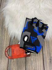 Rdx Giant Inside Athletic Gloves Blue Black F6 Nwt