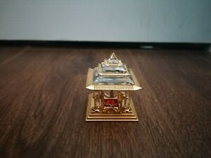 SWAROVSKI LARGE JOURNEYS JAPANESE TEMPLE FIGURINE IS IN GREAT CONDITION