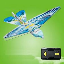Actual Hot 27MHz Blue Flying E-Bird Kid's RC Toy Flying Bird Remote Control  XG