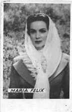B55699 Maria felix Acteurs Actors 9x7cm