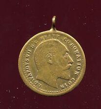 MEDAILLE COURONNEMENT ROI EDOUARD VII 1902 / Saint Georges