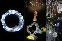 10M 100LED MICRO WIRE STRING FAIRY PARTY XMAS WEDDING CHRISTMAS LIGHT