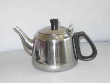Tee Kocher mit Sieb Edelstahl Tee-Kanne 1 L Teebereiter Glühwein Kaffee Samowar