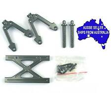 Alloy REAR shock mount for Axial Honcho & Dingo 1:10 RC Crawlers - Gunmetal