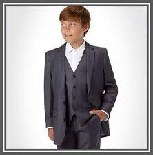 BNWT Rocha John Rocha Designer @ Debenhams Boys Grey Suit Jacket Blazer 9yrs £35