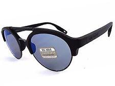 serengeti Savio sunglasses matte black  / polarized blue mirror 555NM 8560