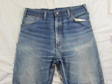 Vtg 60s 70s Penney's Hige Faded Denim Work Jeans Measure 35x31 Scovill Zipper