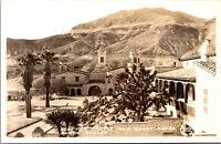 Vtg 1930s Scottys Castle & Guest House Death Valley California CA RPPC Postcard