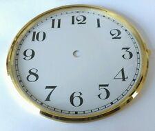 Brass Clock Bezel and Glass 160mm Arabic Dial