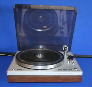 VINTAGE Philips 212 Electronic Turntable with Pickering v-15 cartridge- Tested,
