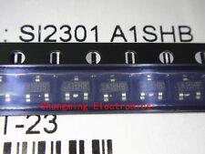 100PCS SI2301DS SI2301 A1SHB SOT-23 MOSFET SMD transistor