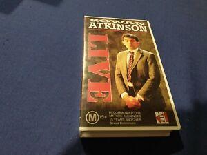 Rowan Atkinson Live - VHS - New - Sealed