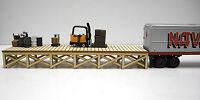 O Scale ** Laser Cut ** Custom ** Warehouse Dock Kit