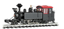 Bachmann G-Scale #91198 2-4-2 Steam Loco Black/wht/red, Lights, Smoke N.I.B.
