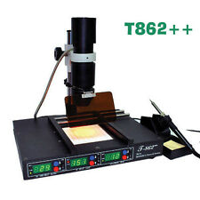 Sale T862++ REWORK STATION INFRARED SOLDERING SMT SMD IRDA BGA WELDER MACHINE be