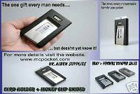 *BEST WALLET EVER MADE* 'MCPOCKET' BUSINESS + CREDIT CARD HOLDER MONEY CLIP IN 1