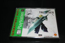 Final fantasy 7 VII Comes Complete 3 Disc Greatest Hits
