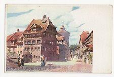 Germany, Nurnberg, Durerhaus Art Postcard, A598
