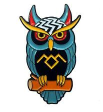 TWIN PEAKS ENAMEL PIN BY THRILLHAUS