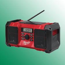 Milwaukee M18 JSR-0 18V Netz-/Akku-Radio Baustellenradio  4933451250