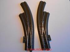 Märklin 24671 - 24672 gebogene C-Gleis Weichen links/rechts aus Startset, NEU