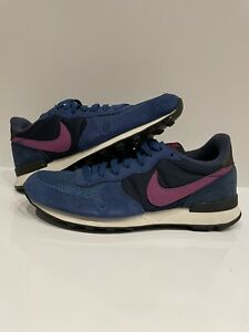 Nike Internationalist 629684-405 Women's Size 8.5 Blue And Purple Running Shoes