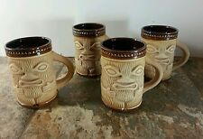 Aztec Styled Ceramic and clay terracota Mugs