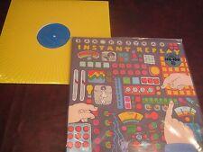 DAN HARTMAN INSTANT REPLAY COLORED VINYL LIMITED LP + RARE 12 INCH SINGLE COMBO