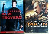 SERATA THRILLER -  IO VI TROVERO' + TAKEN 3 - 2 DVD EX NOLEGGIO - FOX