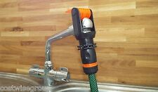 Universal Tap To Garden Hose Pipe Connector Mixer Kitchen + Connector