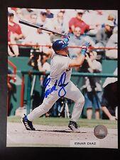 """Einar Diaz Autographed 8"""" X 10"""" Photograph"""