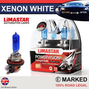 VW Caddy Mk3 11-on H15 55/15w Halogen DRL Light Headlight Bulbs 6000k (PAIR)