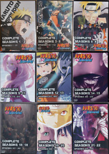 Naruto Shippuden Episodes 1-500 English Dub Complete Series on 54 DVDs 22 Season