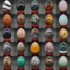 Wholesale Lots Mix Natural Gemstone Crystal Sphere Reiki Healing Massage Egg