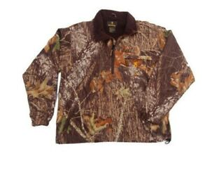Browning Warm Front Fleece Wood Camo Hunting Fleece Jacket Liner Small #RN 73765
