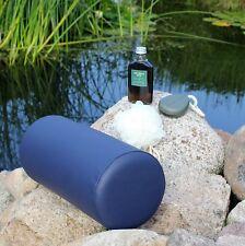 Kunstleder Knierolle 40x18 cm Nackenstütze Lagerungsrolle Wellnessrolle Massage