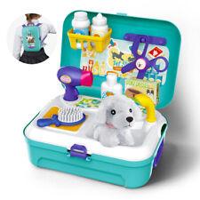 17PCS Medical Kit Pet Doctor Nurse Dentist Pretend Roles Play Toy Set Kids Gift
