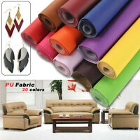 PU Faux Leather Fabric Grain Soft Cloth Upholstery Sofa Material 140*50cm Craft