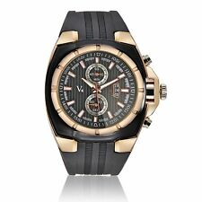 Fashion Luxury V6 Rubber Band Sport Casual Men's Quartz Date Analog Wrist Watch