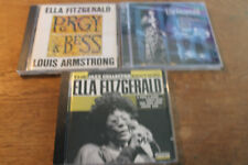 Ella Fitzgerald [4 CD ] Jazz Collector + Louis ARMSTRONG Porgy & Bess + ELLA