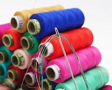 Assorted 100 Pcs Set Polyester Thread Spun Spool Hand Machine Sewing Supplies